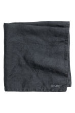 Linen napkin - Anthracite grey - Home All | H&M IE 2