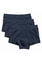 3-pack boxer shorts - Dark blue - Men | H&M CN 2