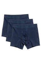 3-pack boxers - Dark blue - Men | H&M 2