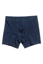 3-pack boxers - Dark blue - Men | H&M 3