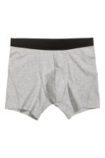 3-pack boxers - Grey marl - Men | H&M 3