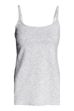 MAMA 2件入哺乳上衣 - Dark blue/Grey - Ladies | H&M 5