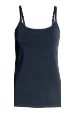 MAMA 2-pack nursing tops - Dark blue/Grey - Ladies | H&M 4