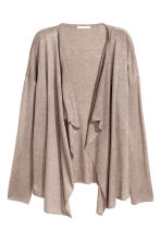 Fine-knit cardigan - Light mole - Ladies | H&M CN 2