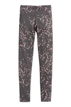 Jersey leggings - Dark grey -  | H&M CN 2