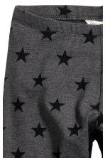 Jersey leggings - Dark grey/Star - Kids | H&M CN 3