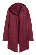 Sweatshirt cardigan - Burgundy - Men | H&M 2