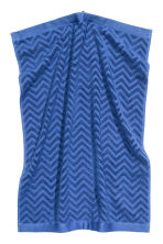 Jacquard-patterned hand towel - Blue - Home All | H&M CN 1