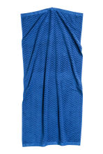 Jacquard-patterned bath towel - Blue - Home All | H&M CN 2