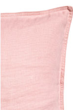 Washed linen cushion cover - Dusky pink - Home All | H&M CN 2