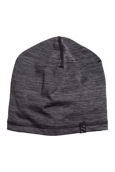 Fleece hat - Dark grey marl - Men | H&M 1