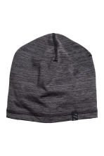 Fleece hat - Dark grey marl - Men | H&M CN 1