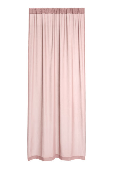2-pack curtain lengths - Dusky pink - Home All | H&M CN 1