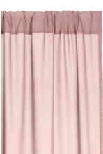 2-pack curtain lengths - Dusky pink - Home All | H&M CN 2
