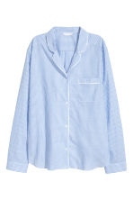 Cotton pyjamas - Lt.blue/Narrow strip - Ladies | H&M 3