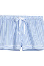 Cotton pyjamas - Lt.blue/Narrow strip - Ladies | H&M 4