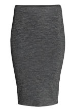 Pencil skirt - Dark grey marl - Ladies | H&M CN 2