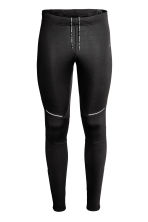 Winter running tights - Black - Men | H&M 2