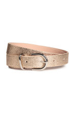 Narrow belt - Gold - Ladies | H&M CN 1