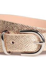 Narrow belt - Gold - Ladies | H&M 3