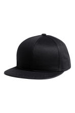 Cotton-blend cap - Black -  | H&M 1