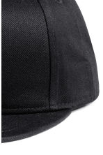 Cotton-blend cap - Black -  | H&M 3
