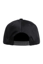 Cotton-blend cap - Black -  | H&M 2