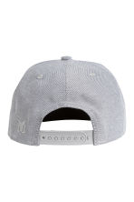 Cotton-blend cap - Light grey -  | H&M CN 2