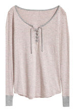 Jersey pyjamas - Light pink/Striped - Ladies | H&M 4