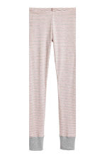 Jersey pyjamas - Light pink/Striped - Ladies | H&M 3
