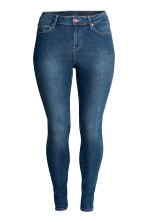 H&M+ Slim Jeans - Dark denim blue - Ladies | H&M CN 1