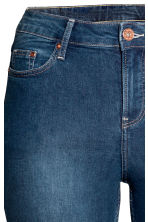 H&M+ Slim Jeans - Dark denim blue - Ladies | H&M CN 3