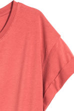 Long T-shirt - Terracotta pink - Ladies | H&M CN 3