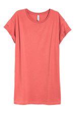 Long T-shirt - Terracotta pink - Ladies | H&M CN 2