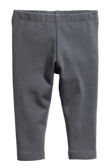 Jersey leggings - Dark grey - Kids | H&M