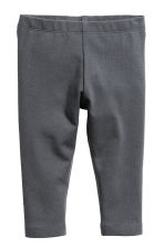 Jersey leggings - Dark grey - Kids | H&M CN 1
