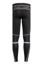 Running tights - Black - Men | H&M 6