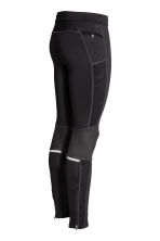 Running tights - Black - Men | H&M 5
