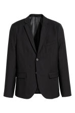 Jacket Slim fit - Black - Men | H&M CA 4