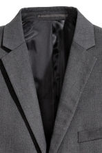 Blazer - Slim fit - Donkergrijs -  | H&M BE 5