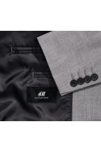 Jacket Slim fit - Grey - Men | H&M 3