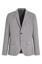 Jacket Slim fit - Grey - Men | H&M IE 2