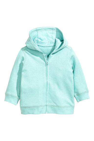 Hooded jacket - Mint - Kids | H&M CN 1