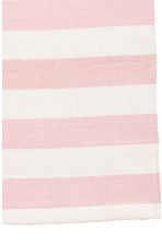 Striped cotton rug - Light pink - Home All | H&M CA 2