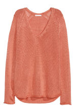 Knitted jumper - Apricot - Ladies | H&M 2