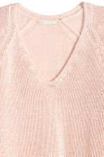 Knitted jumper - Light pink - Ladies | H&M CN 3