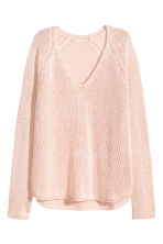 Knitted jumper - Light pink - Ladies | H&M 2