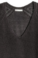 Knitted jumper - Dark grey - Ladies | H&M 3