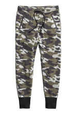 Sweatpants - Khaki green/Pattern - Ladies | H&M 3