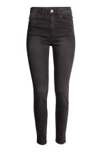 Trousers High waist - Nearly black - Ladies | H&M 2